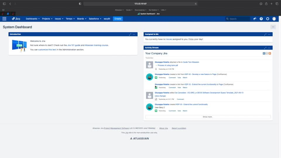 Bamboo for users- project deployment and interactions with Jira